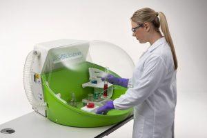 hotte mobile de laboratoire