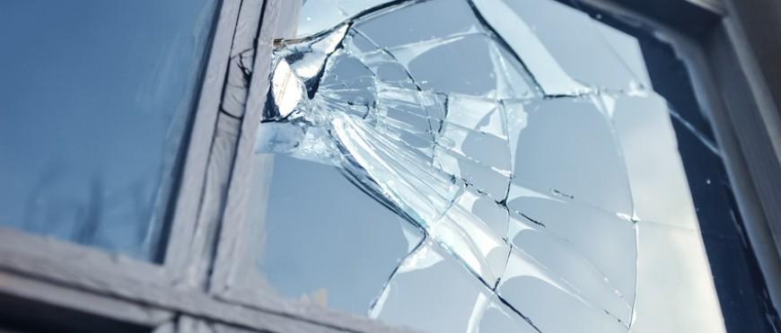 vitrine cassée